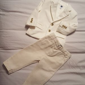 d9a0e05e928 Janie and Jack   Zara Jackets   Coats - Infant boy linen Blazer and slacks